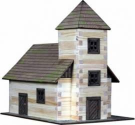 Set de constructie Walachia Church Puzzle si Lego