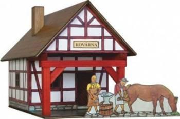 Set de constructie Walachia Smithery Puzzle si Lego