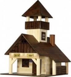 Set de constructie Walachia Tourism Chalet Puzzle si Lego
