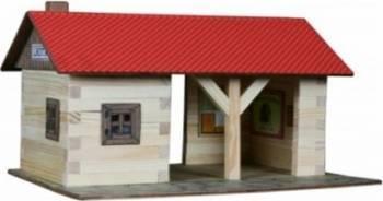 Set de constructie Walachia Train Station Puzzle si Lego