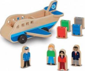 Set de joaca Avion cu pasageri Melissa and Doug Jucarii Interactive