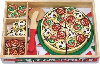 Set de joaca Pizza Party Melissa and Doug Jucarii