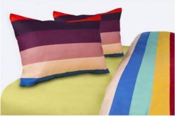 Set de Pat Dublu Heinner Home RAINBOW Multicolor Lenjerii de pat