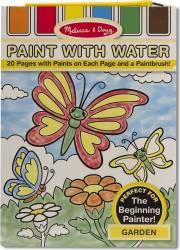 Set de pictura cu apa Gradina Melissa and Doug Rechizite