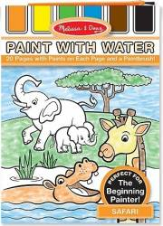 Set de pictura cu apa Safari Melissa and Doug Rechizite