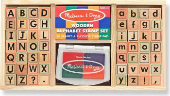 Set de stampile Alfabet Melissa and Doug Jucarii