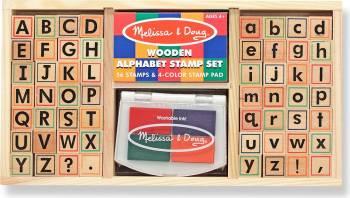 Set de stampile Alfabet Melissa and Doug Jucarii