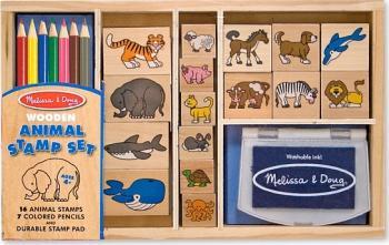 Set de stampile cu Animale Melissa and Doug Jucarii