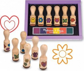 Set de stampile Happy Handle Melissa and Doug Jucarii