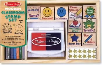 Set de stampile La scoala Melissa and Doug Jucarii