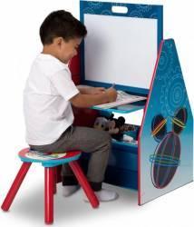 Set Delta Children 2 in 1 organizator si birou cu tablita si scaun Mickey Mouse Mobila si Depozitare jucarii