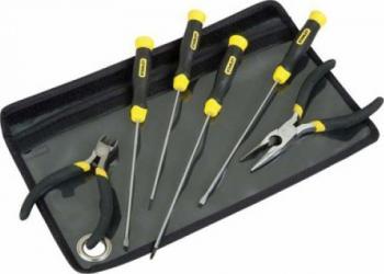 Set Depanare Pc Stanley 4 Surubelnite 2 Miniclesti