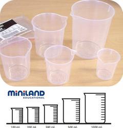 Set didactic pentru masurare lichide Miniland Rechizite