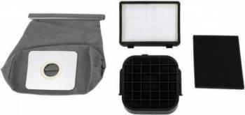 Set filtre si sac aspirator Heinner, compatibil cu modelul HVC-M700PP, 4 buc/set Accesorii Aspirator & Curatenie