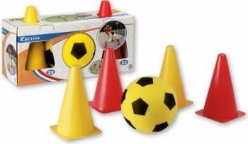 Set fotbal cu jaloane Androni Giocattoli Jucarii de exterior