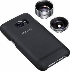 Set Foto Samsung Galaxy S7 Edge G935 - Doua Obiective + Skin Selfie Stick si Accesorii Camera