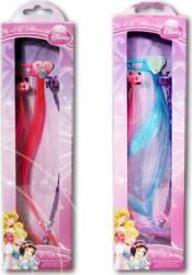Set Frumusete Cu Extensii Par Disney Personaje Multiple - Princess Multicolor