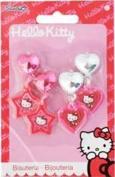 Set Frumusete Hello Kitty 2 Perechi De Cercei Hello Kitty