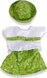 Set fusta bluza si palarie papusi 40-42 cm - Miniland Papusi figurine si accesorii papusi