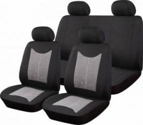 Set Huse Auto Ro Group Sueden Negru-Gri