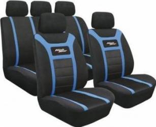 Set huse scaun fata si spate High Gear albastru Lampa Huse