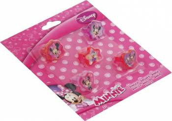 Set Inele Disney Minnie Mouse 5 Bucati