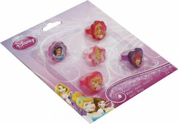 Set Inele Disney Personaje Multiple - Princess 5 Bucati