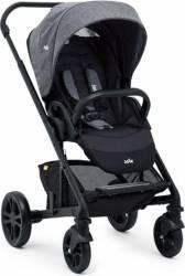 Carucior Joie Chrome Travel Set 3 in 1 DLX Chromium recomandat copiilor intre 0 luni - 4 ani Gri Carucioare copii