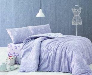 Set lenjerie de pat 3 piese Marie Claire Clover Hexagone Lenjerii de pat