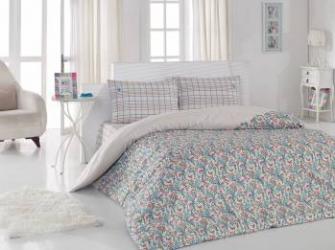Set lenjerie de pat 3 piese US Polo Milford Multicolor Lenjerii de pat