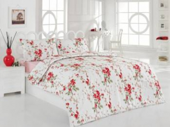 Set lenjerie de pat 4 piese Studio Casa Maria Dreams Red