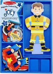 Set magnetic Sa-l imbracam pe Joey Melissa and Doug Jucarii
