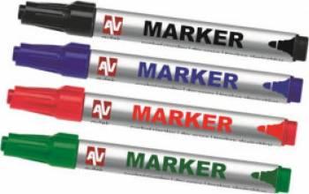Set Marker Avtek 4 buc. Multicolor Articole and accesorii birou