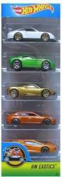 Set 5 Masinute  Hot Wheels Multicolor Jucarii