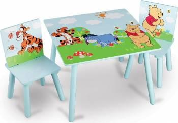 Set masuta si 2 scaunele Disney Winnie Scaune de masa