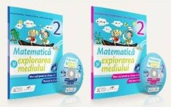 Set matematica si explorarea mediului - Clasa 2 - Partea I+partea II + CD - Iliana Dumitrescu Nicoleta Ciobanu