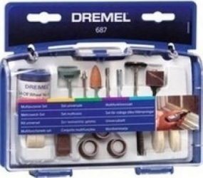 Set multifunctional Dremel 687 Scule de mana