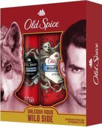 Set Old Spice Wolfthorn Deodorant spray 125 ml + Lotiune dupa ras 100 ml Seturi Cadou