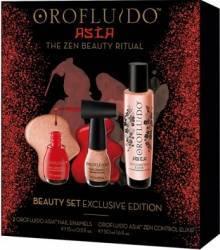 Set Orofluido Asia Zen Control Elixir 50ml + Nail Enamel 15ml x 2 Seturi & Pachete Promo