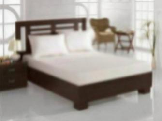 Set pat 3 piese Studio Casa Alb cearceaf pat dublu cu elastic si doua fete de perna 100% bumbac Lenjerii de pat
