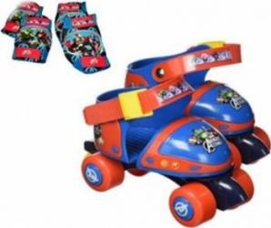 Set patine cu rotile si protectii Saica Avengers marime 24-29 Masinute si vehicule pentru copii