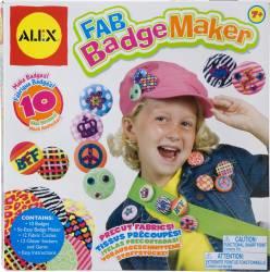 Set pentru creat insigne Alex Toys