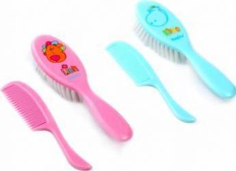 Set perie si pieptene pentru copii BabyOno 565 Hartie igienica si Accesorii baie
