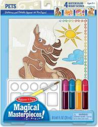 Set pictura 4 scene Animale Melissa and Doug Rechizite