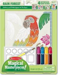Set pictura 4 scene Padurea tropicala Melissa and Doug Rechizite