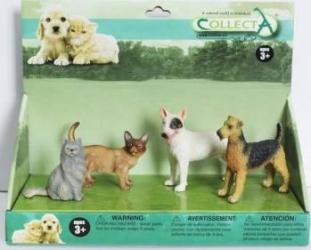 Set pisici si catei Collecta Papusi figurine si accesorii papusi