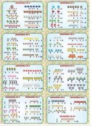 Set planse Adunarea cu 0-10 8 planse