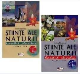 Set Stiinte Ale Naturii Clasa 3. Caiet Partea I+ii - Anina Badescu