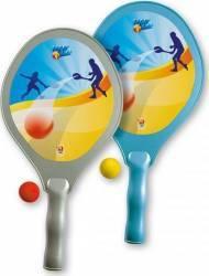 Set tenis plaja Super Androni Giocattoli Jucarii de exterior