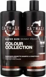 Set Tigi Catwalk Fashionista Brunette Shampoo 750ml + Conditioner 750ml Seturi & Pachete Promo